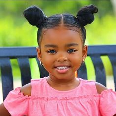 Two bun or two ponytails? For see more of fitness life images visit us on our website ! Cute Mixed Babies, Cute Black Babies, Black Baby Girls, Beautiful Black Babies, Brown Babies, Cute Baby Girl, Beautiful Children, Cute Babies, Beautiful Gorgeous