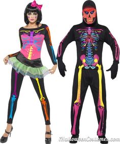 neon couple costumes - Halloween Costumes 2013