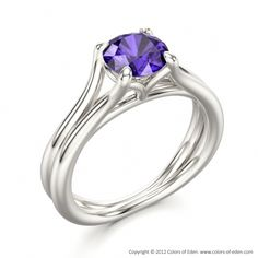 Tanzanite Engagement Ring Temptation