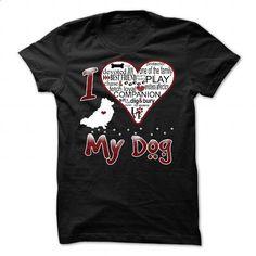 I Love My Dog - Pomeranian - #clothing #funny shirt. ORDER NOW => https://www.sunfrog.com/Pets/I-Love-My-Dog--Pomeranian.html?60505