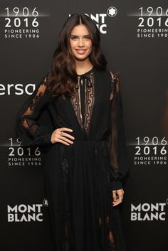d.c - 4/5/16 - Sara Sampaio at the Montblanc 110 Year...