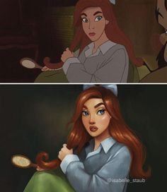 Anastasia (Now is Disney) by Isabelle Staub ( Disney Fan Art, Disney Pixar, Disney E Dreamworks, Disney Love, Disney Artwork, Humanized Disney, Disney Xd, Disney Cartoons, Famous Cartoons