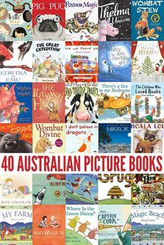 40 Fabulous Australian Picture Books by our favourite Australian authors