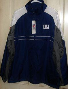 FREE U.S. Shipping! NWT!  NFL Sports Illustrated NY Giants Jacket! Size: Adult L #Dunbrooke #NewYorkGiants