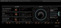 Ender's Game Screen UI Design and Animation - Jayse Hansen