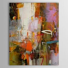Hand Painted Oil Painting Abstract 1304-AB0462 - WallArtBox