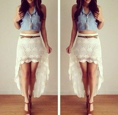 girls see this wonderful skirt I'd like to congratulate ... ❤    ❤    ❤