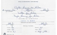 Exame de Admissão - Ayrton Senna - Colégio Rio Branco
