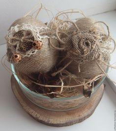 Купить Пасхальное яйцо, декоративное - бежевый, яйцо, Пасха, пасхальный набор, пасхальный декор