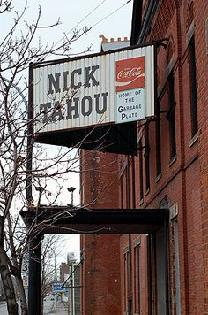 Nick Tahou - Home of the Garbage Plate, Rochester NY I like garbage plates from Henrietta Hotts