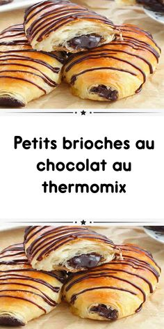 Small chocolate brioches with thermomix a delicious breakfast chocolate bread. here is the recipe for small chocolate brioches with thermomix Chocolate Chip Pudding Cookies, Homemade Chocolate Chip Cookies, Chocolate Chip Oatmeal, Oatmeal Cookie Recipes, Oatmeal Cookies, Snickerdoodle Recipe, Thermomix Desserts, Delicious Chocolate, Sweet Recipes