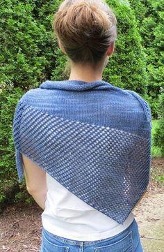 Knitting pattern for Pinkerton Shawl