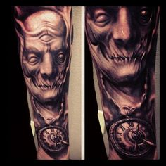 Tattoo (freehand) by Carl Grace. Sick work.