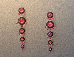 Tourmalines are one of my favourite gemstones, especially pink ones :)I designed these earrings for myself :)