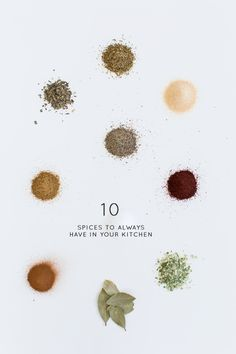 10 Spices to Always Have In Your Kitchen