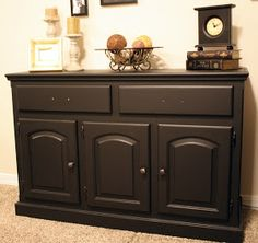 Creative Mommas: Sideboard/Credenza Furniture Re-do