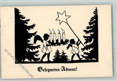 sign Marie M. Behrens - Advent - gute Erhaltung