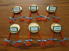 Anne of Green Gables hat and braids party favor. So cute!  #AnneHat #AnneBraids #AnneOfGreenGablesParty