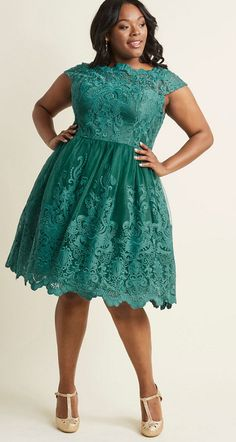 9592ac220f476 Green Cocktail Dress Plus Size - Newest Green Plus Size Dresses -