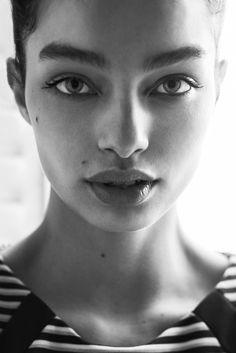pinterest.com/fra411 #face - Luma Grothe by Roy Peri