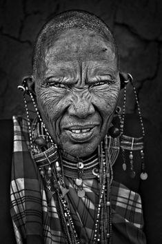 Masai tribe portraits – Kenya