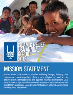 a pdf annual report from Islamic Relief USA