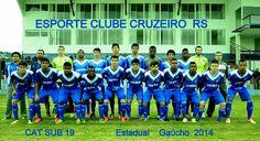 ESPORTE CLUBE CRUZEIRO RS  PRIMEIRA DIVISÃO GAÚCHA : sub 19