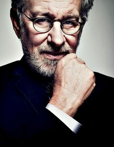 "Steven Spielberg photographed by Joe Pugliese. ""I like the smell of film. I just like knowing there's film going through the camera."""