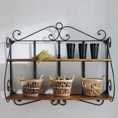1000 images about mdm tradition on pinterest buffet recycled wood and b - Etagere fer forge ikea ...