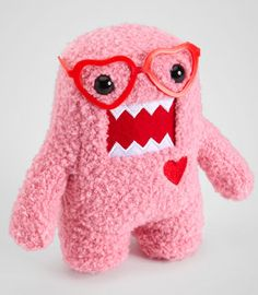 #Fredflare                #love                     #Pink #Nerd #Domo #Love #Plush                      Pink Nerd Domo In Love Plush                                                  http://www.seapai.com/product.aspx?PID=593908