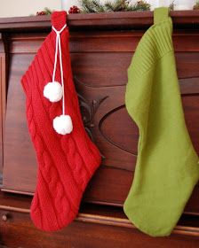 Take the Side Street: New Christmas Stockings: I can sew!