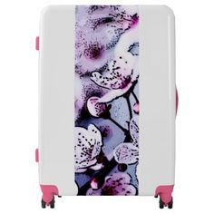 Cherry blossom luggage - accessories accessory gift idea stylish unique custom