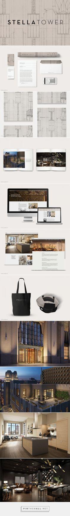 Stella Tower Residential Building Brand Identity by The Seventh Art LLC   Fivestar Branding Agency – Design and Branding Agency & Curated Inspiration Gallery