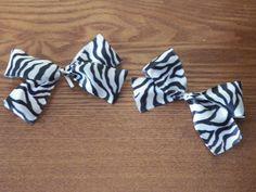 Zebra bows