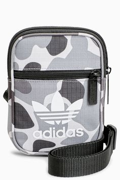 Mens adidas Originals Trefoil Festival Bag - Grey 277b897cbaa1c