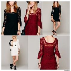 HP 4/11, 6/22CROCHET LACE DRESS with CAMINWT. Check it out! Price: $28 Size: Various, listed by saundie