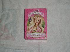 Barbie Movie Collection (DVD 2005) Nutcracker Swan Lake Rapunzel Princess Pauper