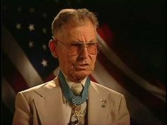 Medic Medal of Honor Recipient. He saved 75 men on Okinawa without having a weapon or side arm.