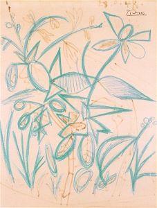 Flowers - Pablo Picasso - The Athenaeum