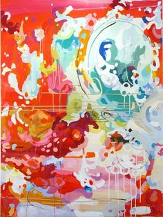 adore the color and movement of this artist's work!!! by dolly