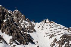 Innsbruck Nordkette Hafelekar und Seilbahnrinne