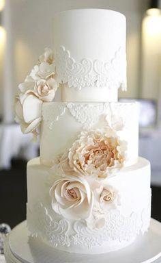 Wedding cake idea; Featured Cake: Cakes 2 Kreate