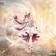 Anime Girl Dress, Anime Art Girl, Dream Fantasy, Fantasy Girl, Nikki Love, Mlp Fan Art, Pretty Anime Girl, Anime Angel, Anime Outfits