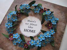 Quilled wreath - Hand Craft