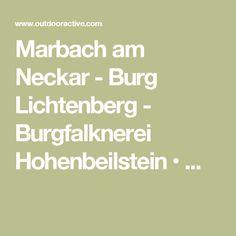 Marbach am Neckar - Burg Lichtenberg - Burgfalknerei Hohenbeilstein • ...
