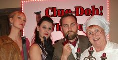 May 2015 sees the launch of Clue D'Oh. It's always exciting to see a new script.