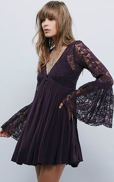 Free People Womens With Love Dress