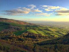 Autumn Sunshine over Dyffryn Clwyd, Denbighshire, North Wales