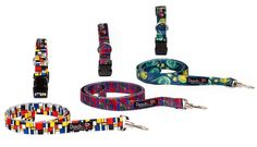 Dutch Dog Amsterdam is a new line of Dutch artist inspired dog leashes and dog collars.