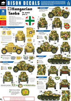 Hungarian army decals